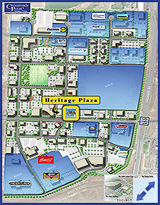 Heritage Plaza Location Spotlight on Crossroads Point Business Center Property Status PUD