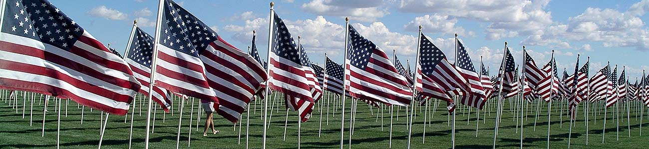 Patriot Day Healing Field at Crossroads Point