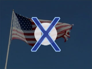 Crossroads Point Patriot Day Memorial Display Flag Waving Video Error